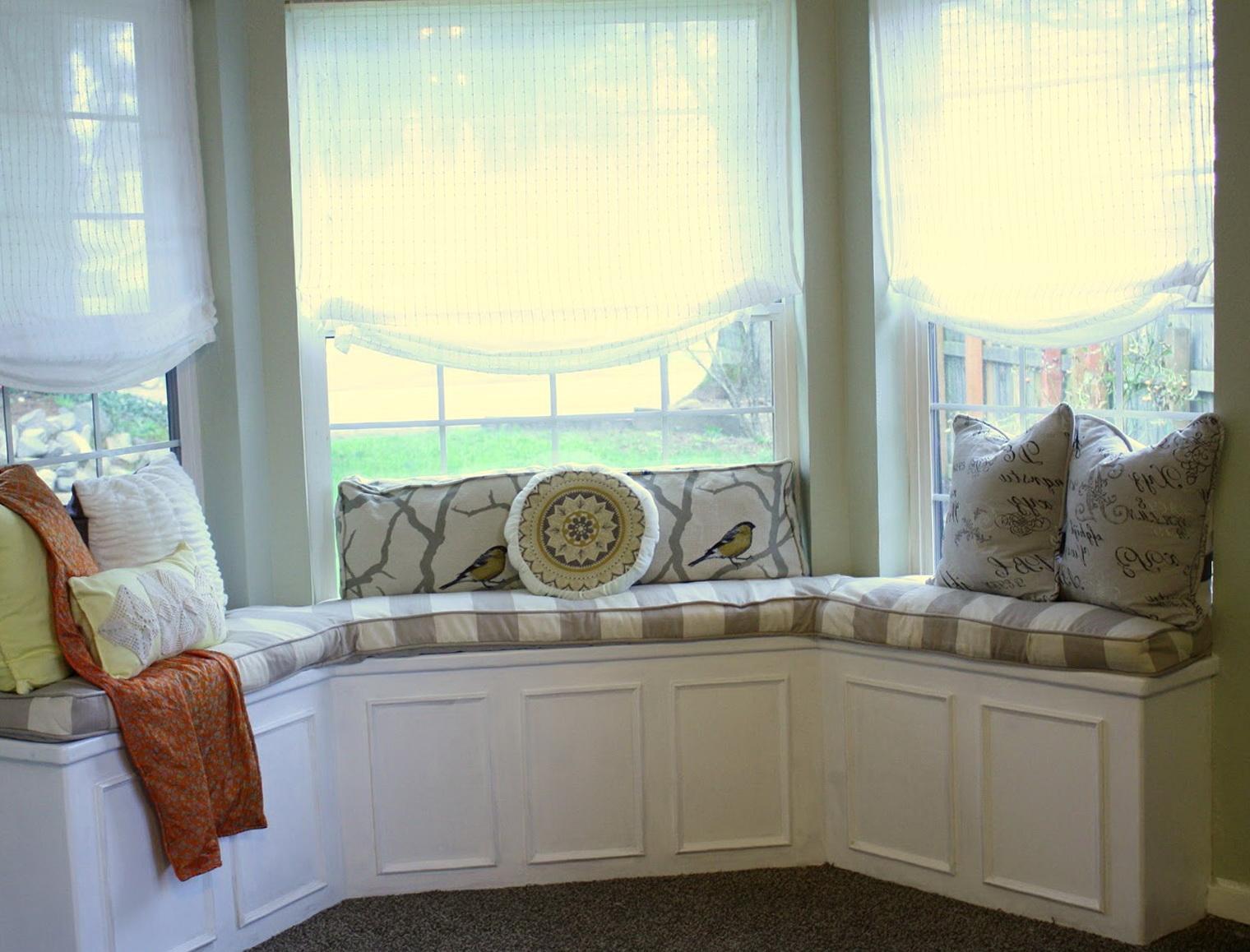 Bay Window Bench Plans