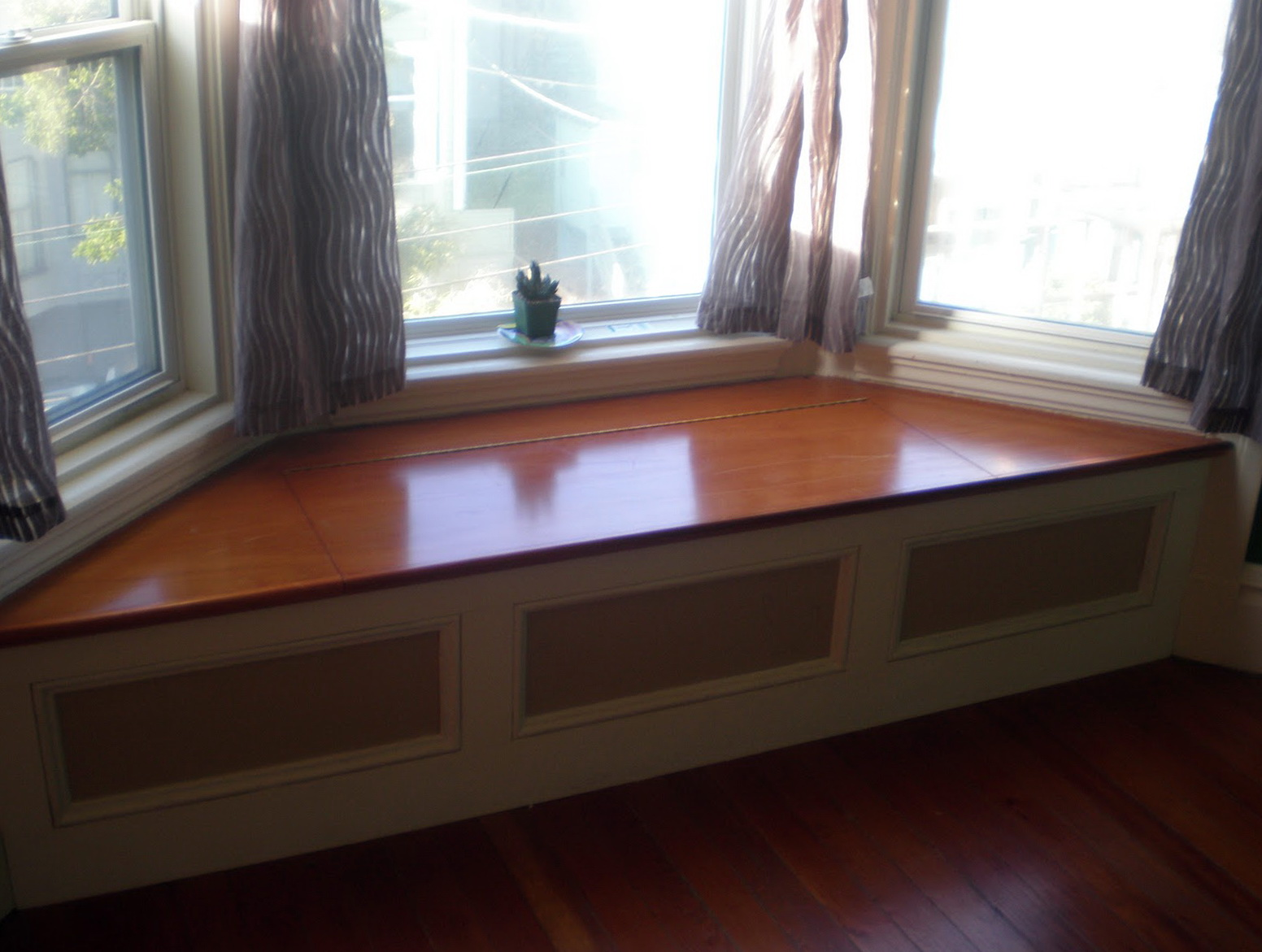 Window Bench Part - 43: Bay Window Bench Seat
