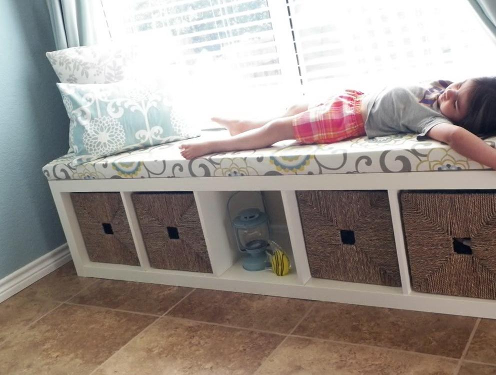 Bench Seat With Storage Diy Home Design Ideas