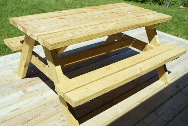 Bench To Picnic Table Plans