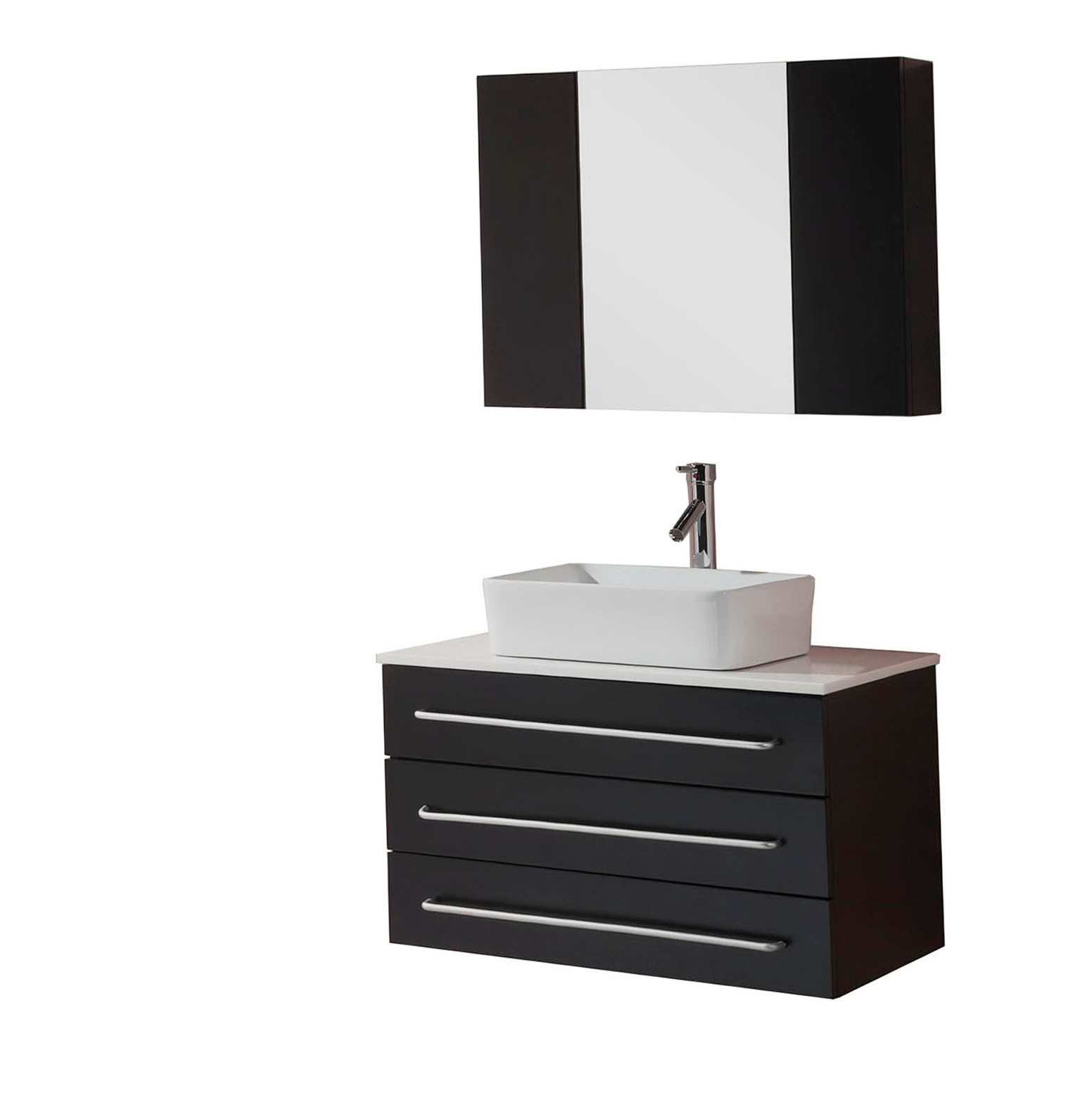 Black And White Bathroom Mirrors