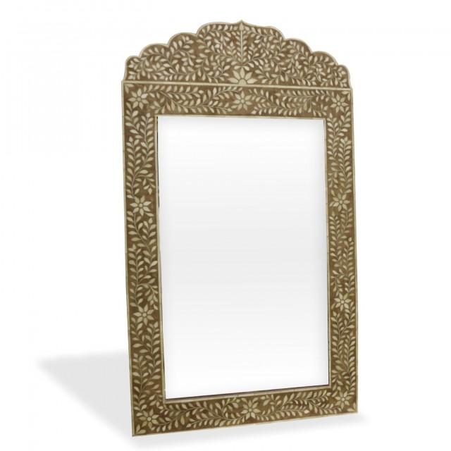 Bone Inlay Floor Mirror