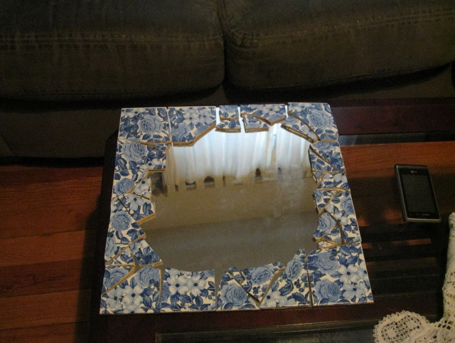Broken Mirror Mosaic Tiles