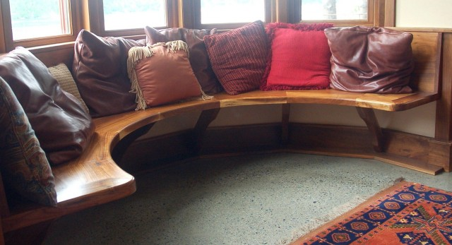 Built In Bench Seat Dimensions