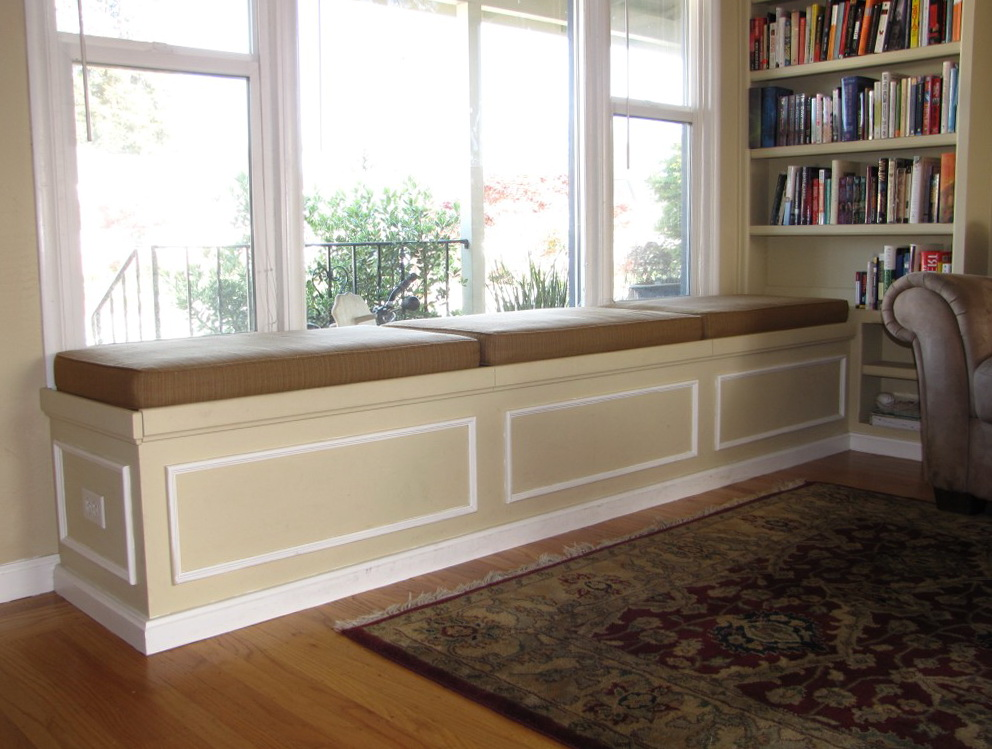 Built In Bench Seat Plans Home Design Ideas