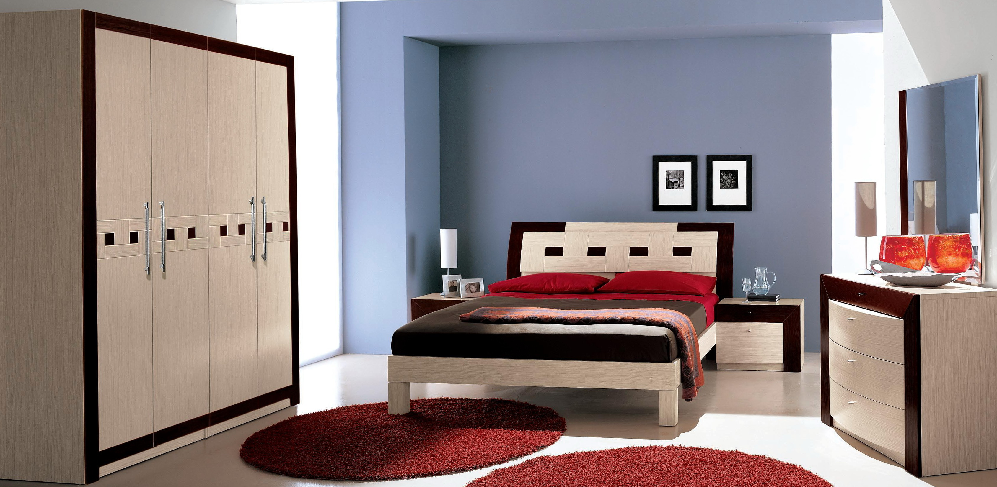 Celine Mirrored Bedroom Set