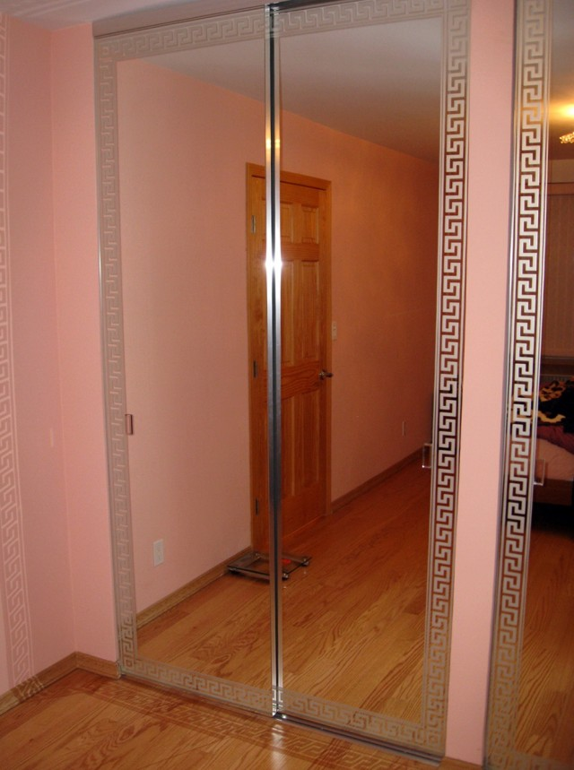 Repair Cracked Mirror Closet Door Home Design Ideas