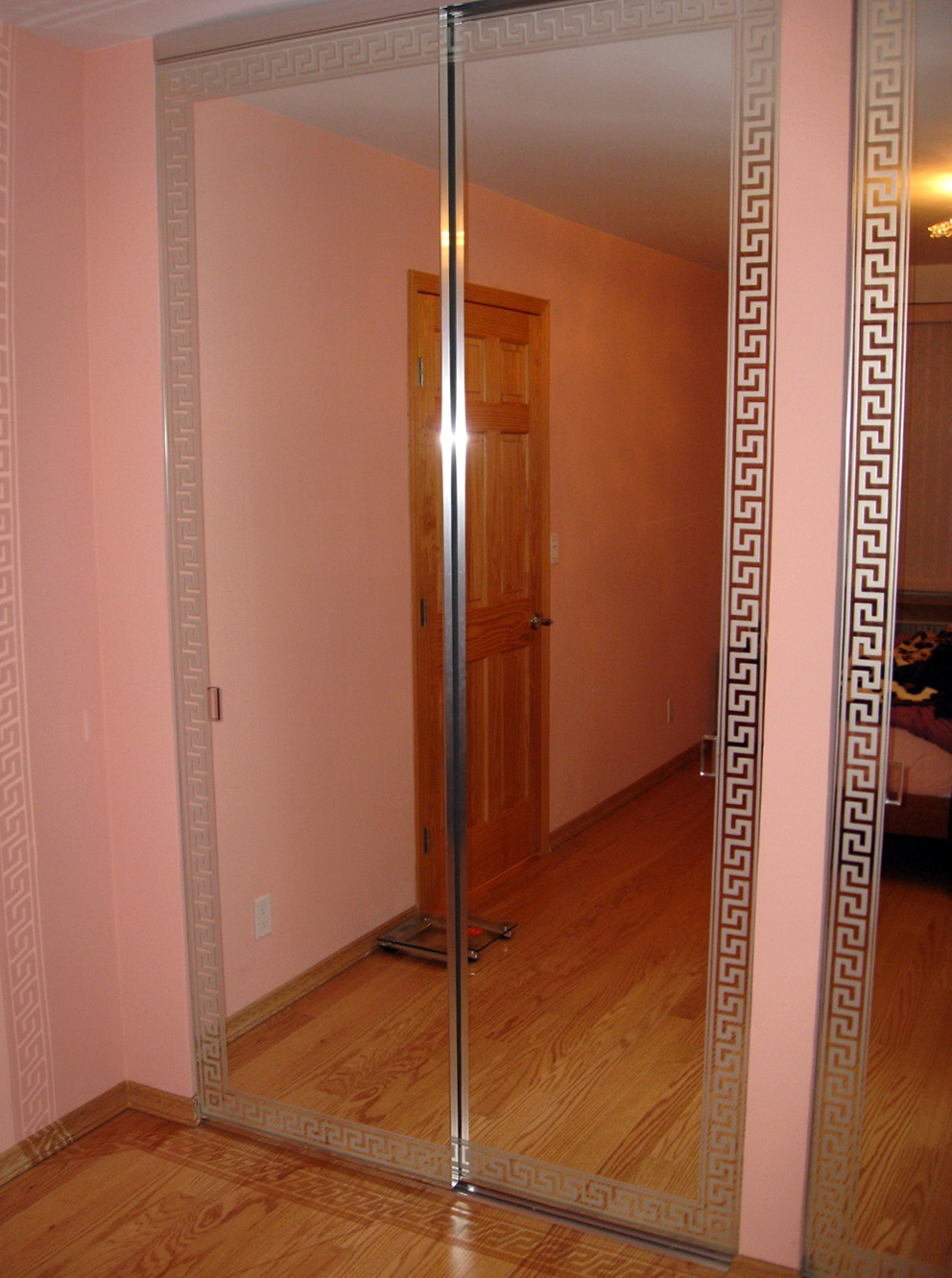 Closet Mirror Doors Repair