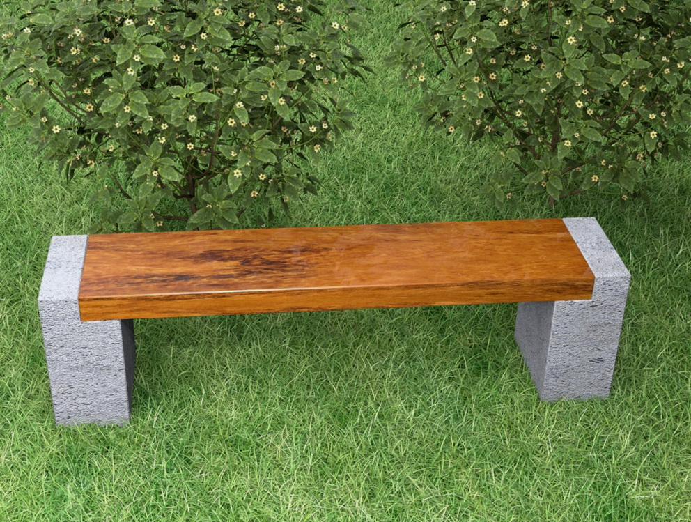 Concrete bench molds uk home design ideas for Bancas de madera para jardin