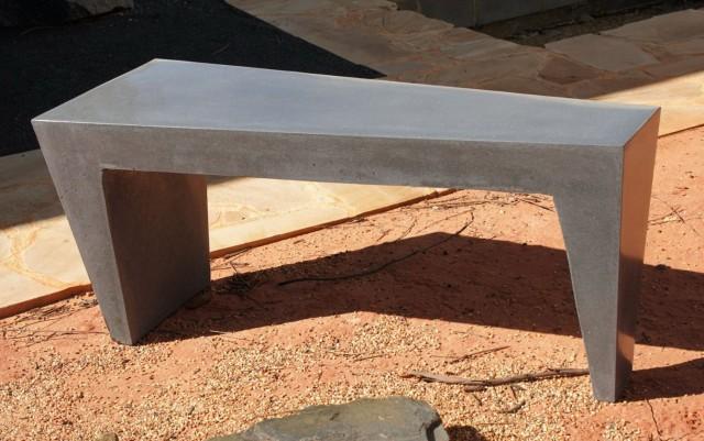 Concrete Garden Bench Adelaide