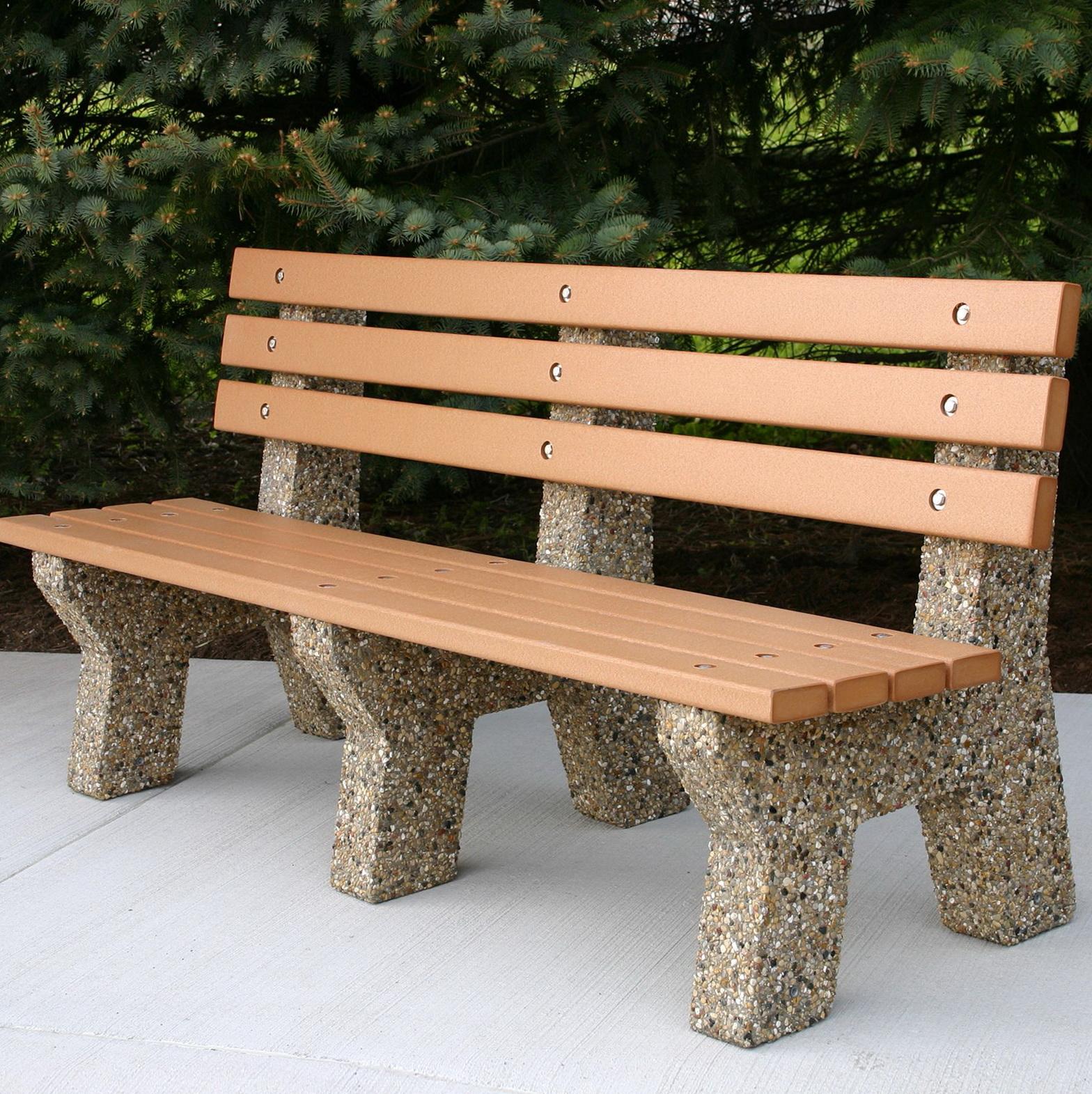 Concrete Garden Bench For Sale