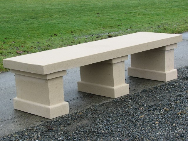 Concrete Park Bench Molds