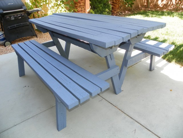 Convertible Bench Picnic Table