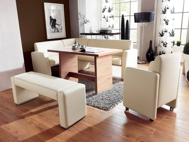 Corner Bench Dining Set With Storage