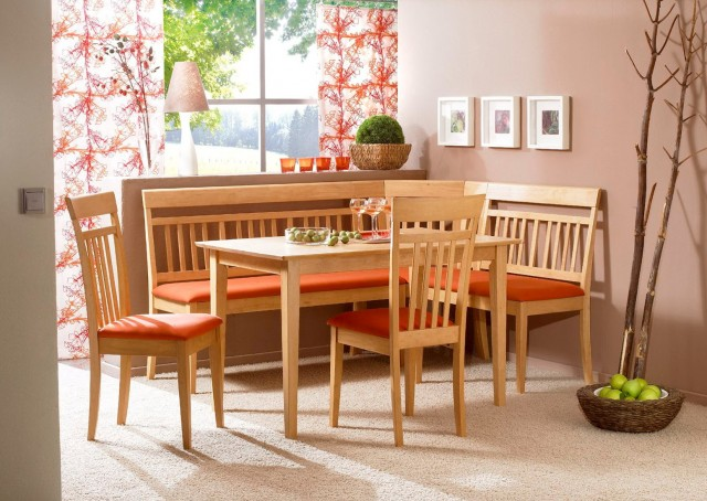 Corner Dining Bench Seating