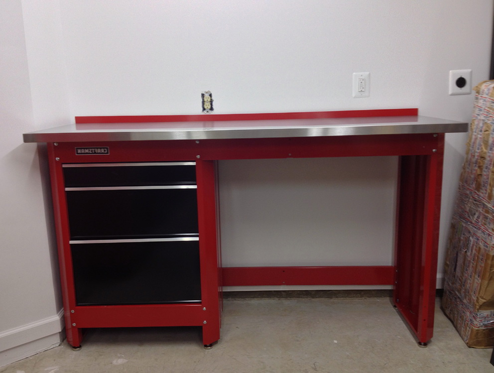 Craftsman Workbench Red Home Design Ideas