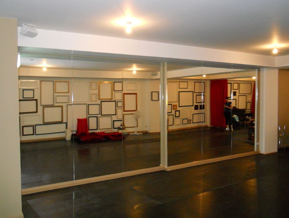 Dance Studio Mirrors Cost Home Design Ideas
