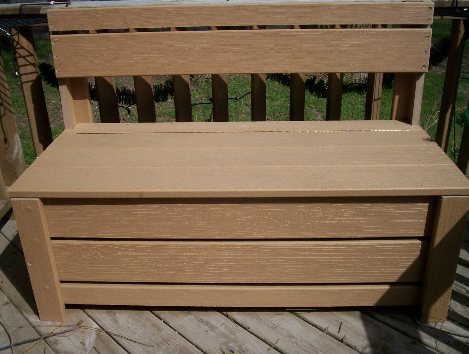 Deck Storage Bench Plans Free
