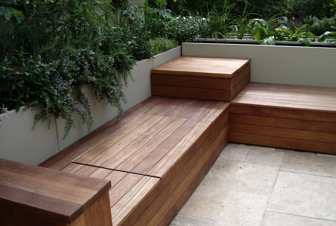 Deck Storage Bench Plans
