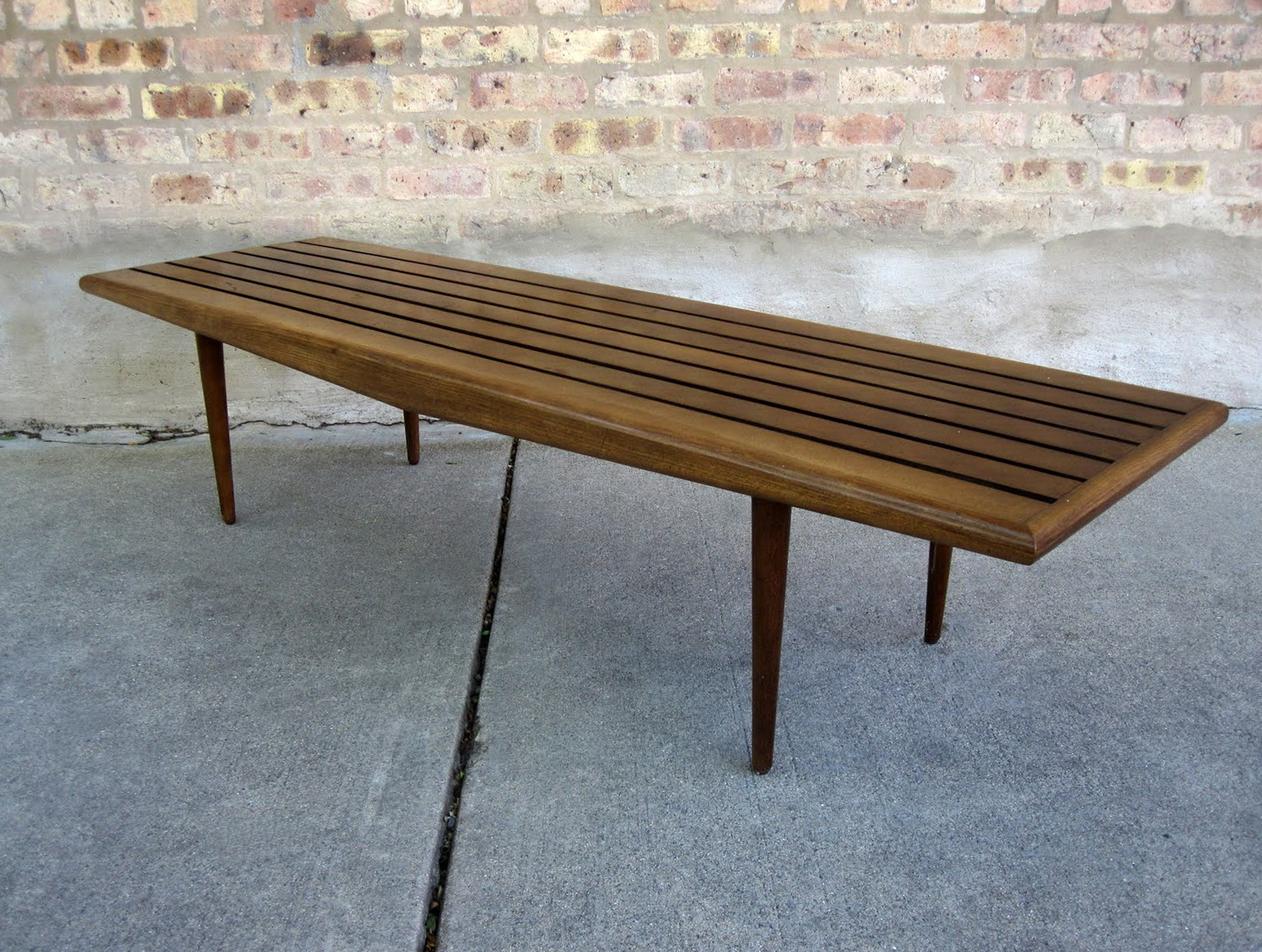 Diy Mid Century Bench