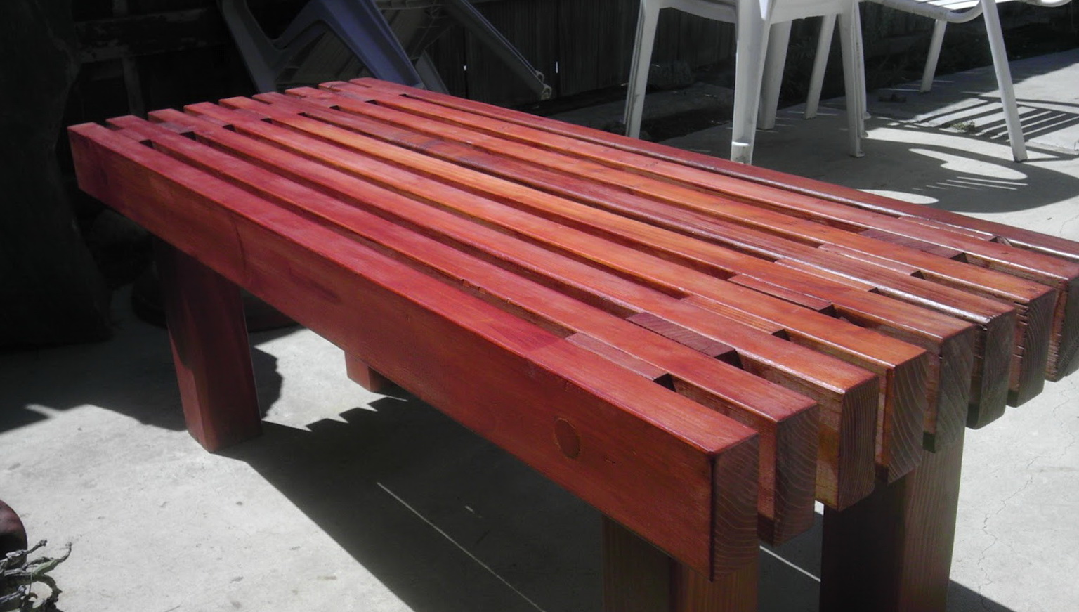 Diy Outdoor Wooden Benches