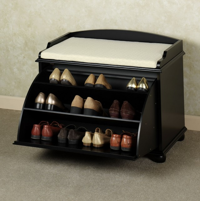 Entry Bench Shoe Storage