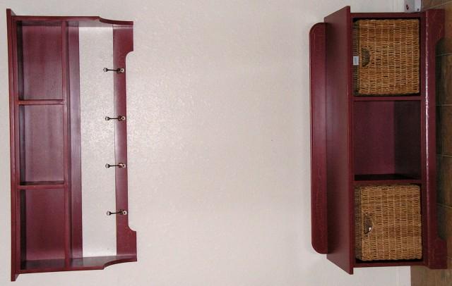 Entry Storage Bench And Shelf