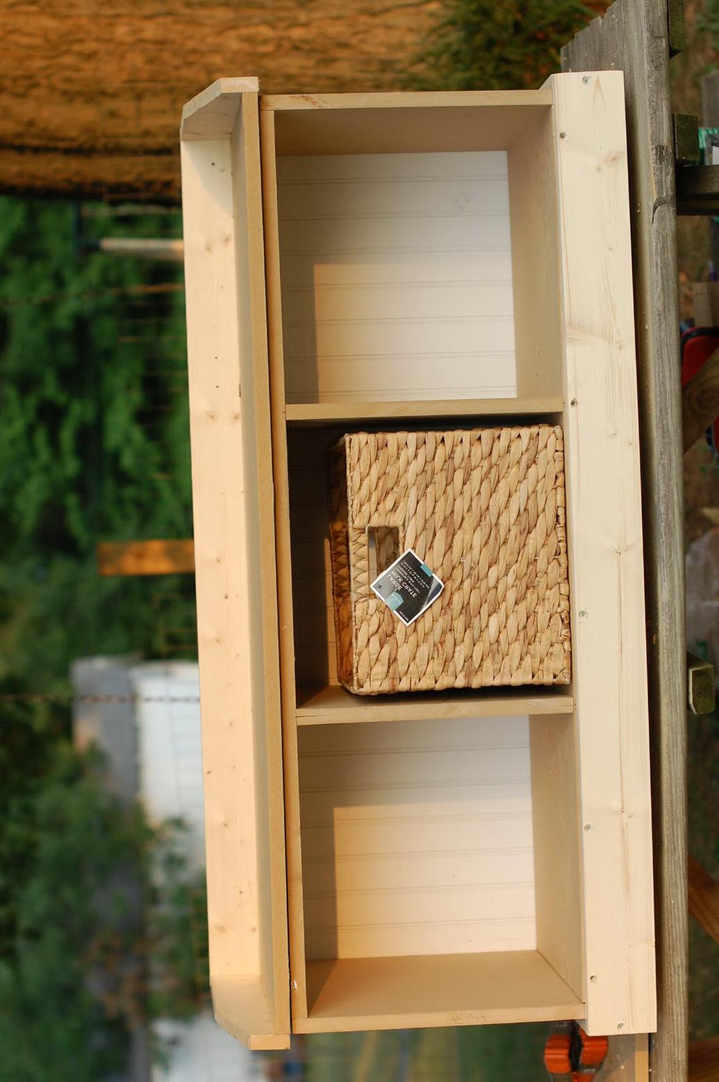 Entry Storage Bench Plans Free