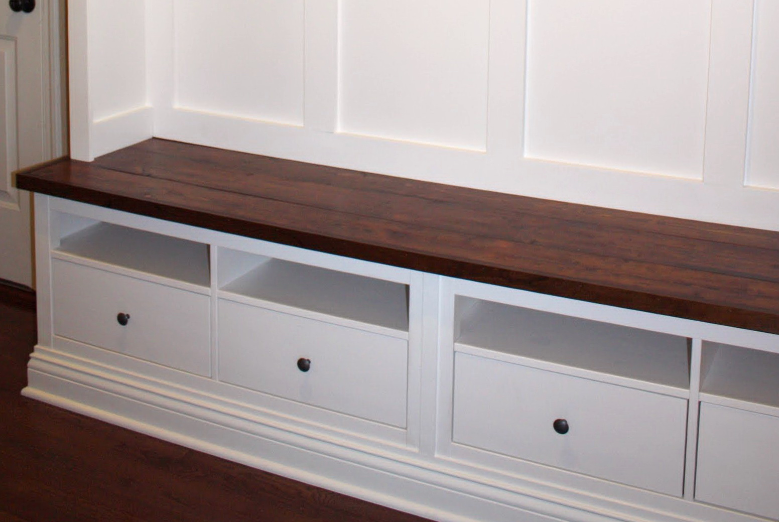 Foyer Seating : Entryway bench ikea hack home design ideas