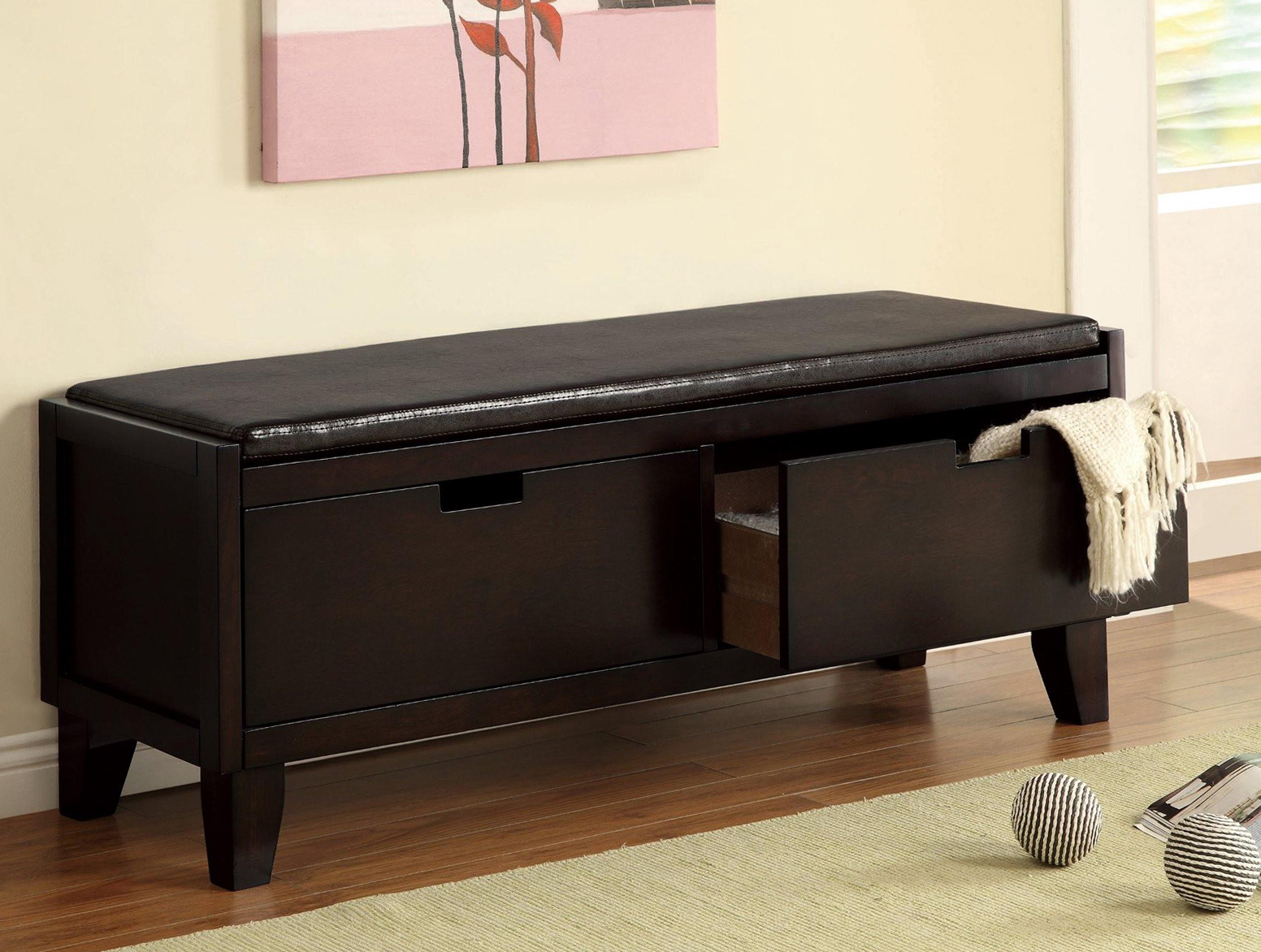 Entryway Bench With Drawers Home Design Ideas