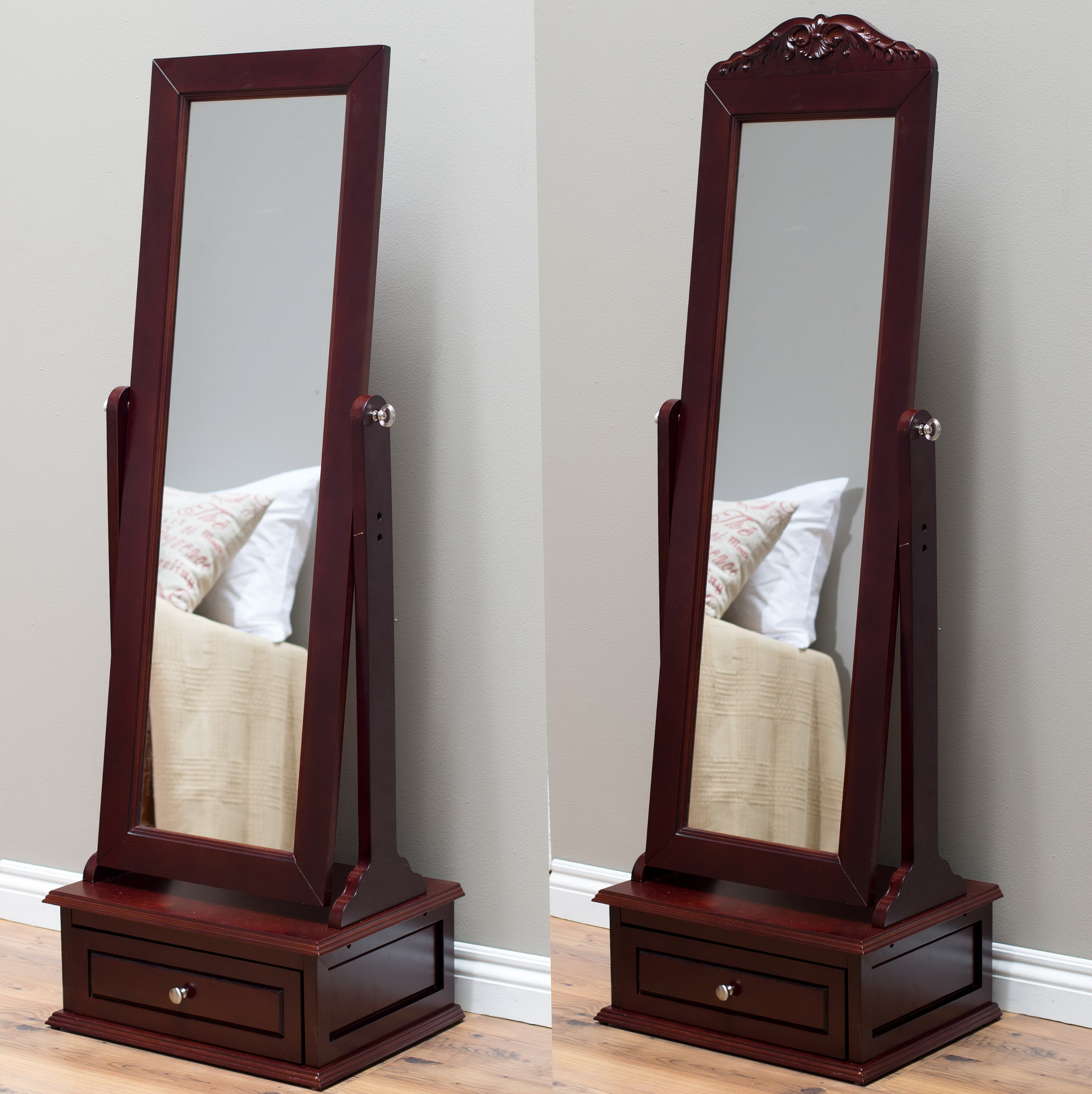 Floor Standing Mirror With Drawer Home Design Ideas