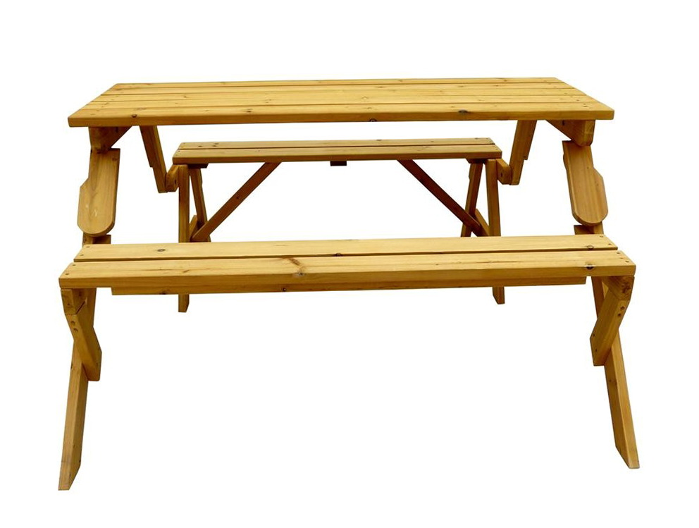 Folding Picnic Table Bench Diy