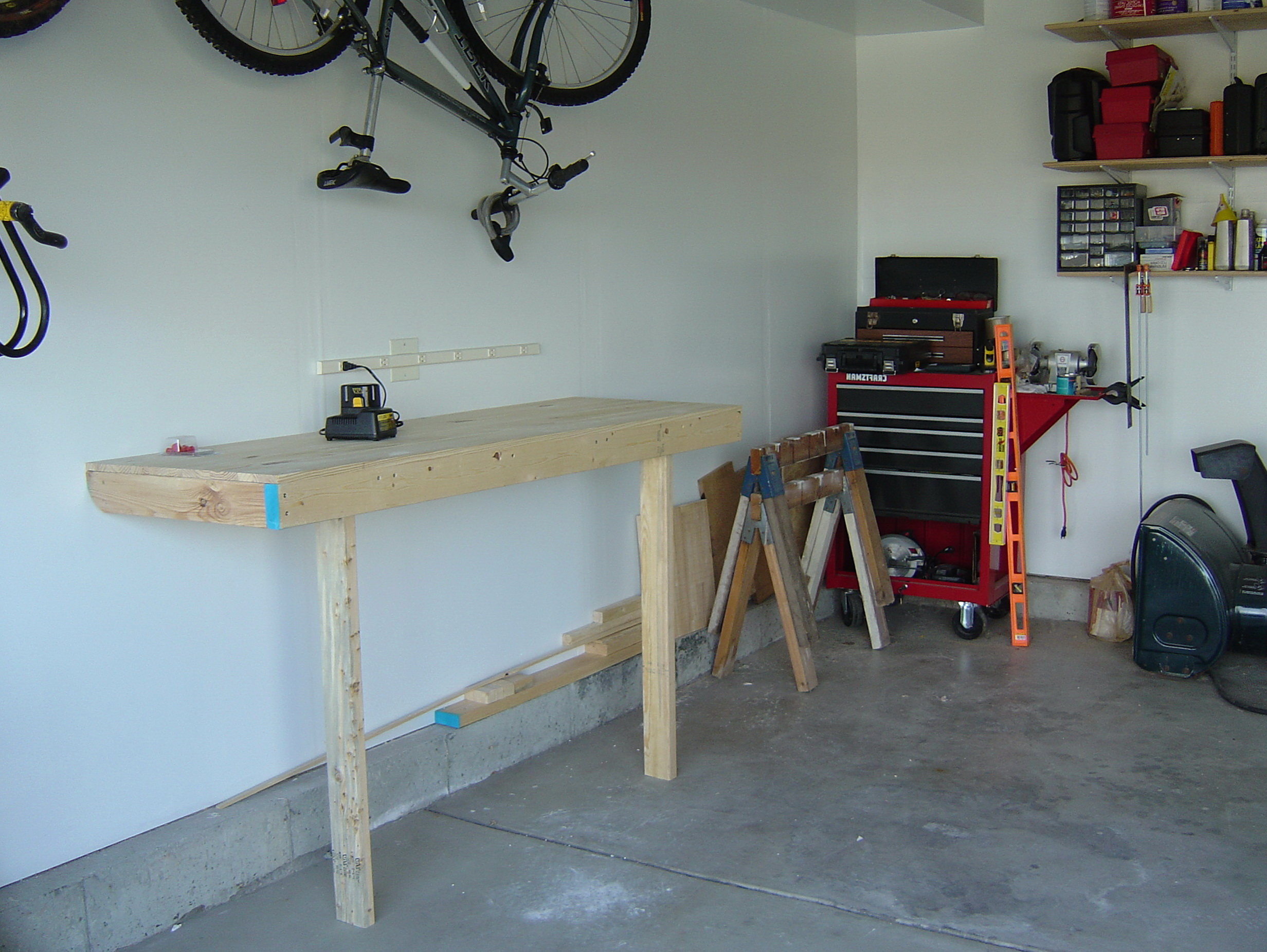 Folding Workbench Ideas
