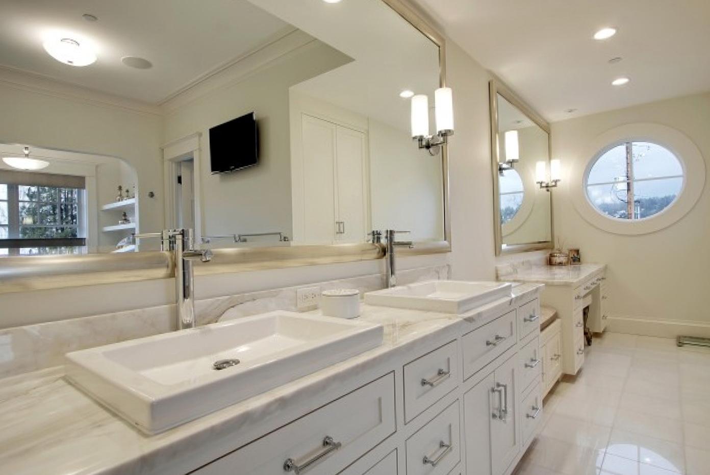 Framed Mirrors For Bathroom Vanities