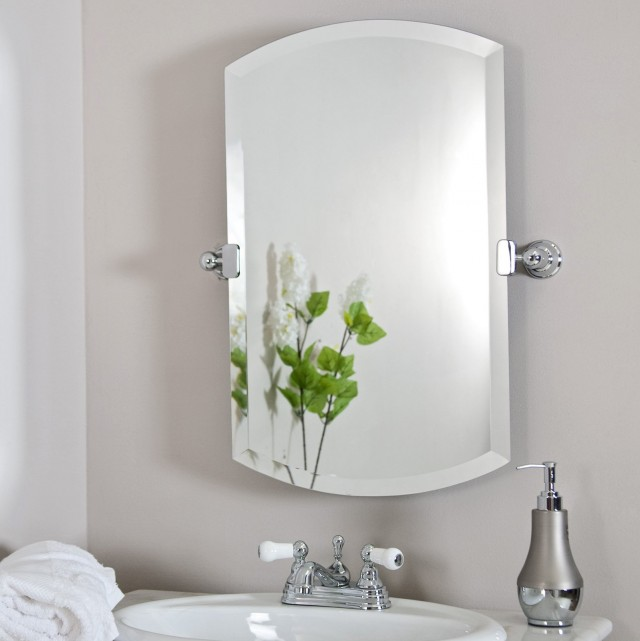 Frameless Tilt Bathroom Mirrors
