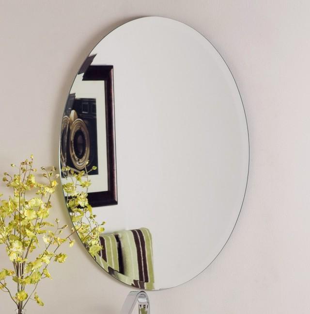 Frameless Wall Mirrors Decorative