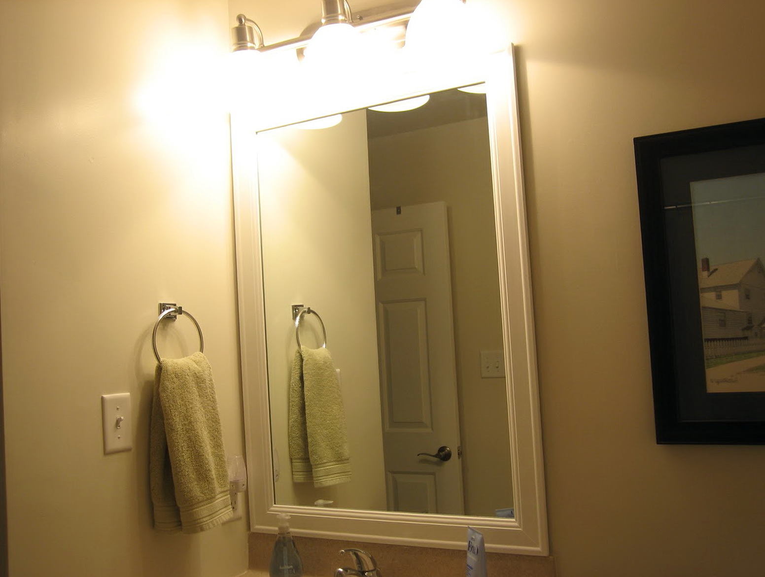 frame a bathroom mirror with molding framing bathroom mirror with molding home design ideas 25268