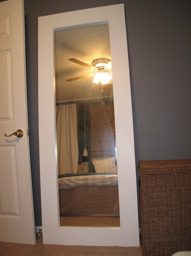 Full Length Back Of Door Mirror