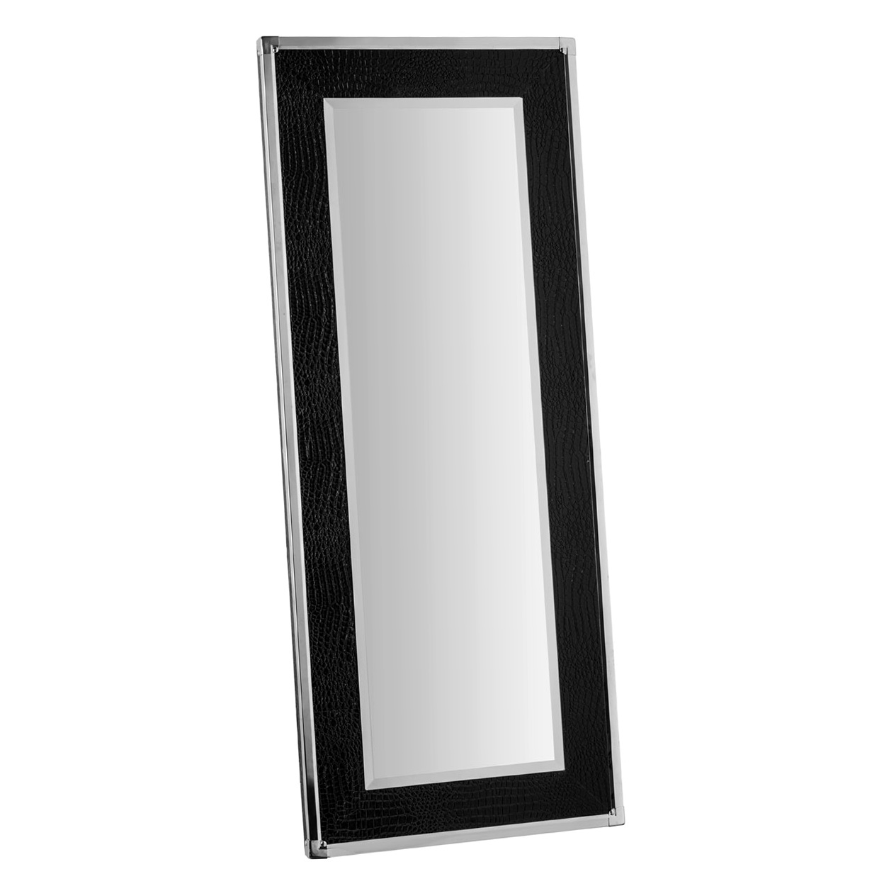 Full length black framed mirror home design ideas for Full length wall mirror