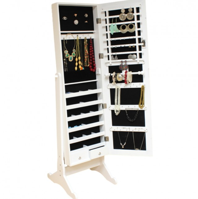 Full Length Mirror That Opens To A Jewelry Box