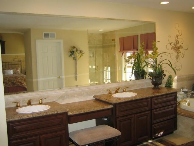 Full Wall Bathroom Mirrors