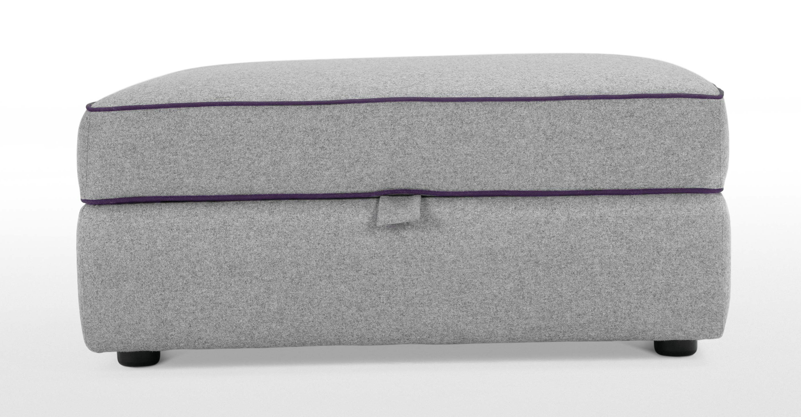 Grey Storage Ottoman Uk