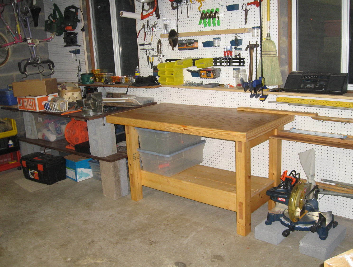 Homemade Workbench Ideas