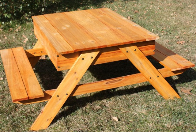 How To Build A Picnic Table Bench