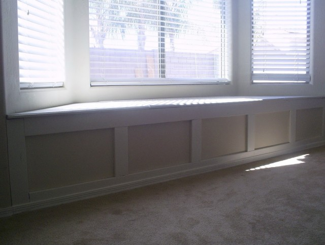 How To Build A Window Seat Bench