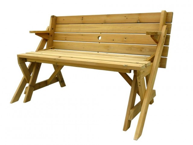 How To Build Folding Picnic Table Bench
