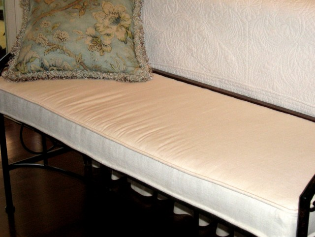Indoor Bench Cushion Covers