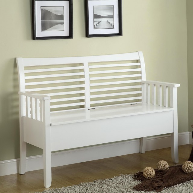 Indoor Benches With Backs