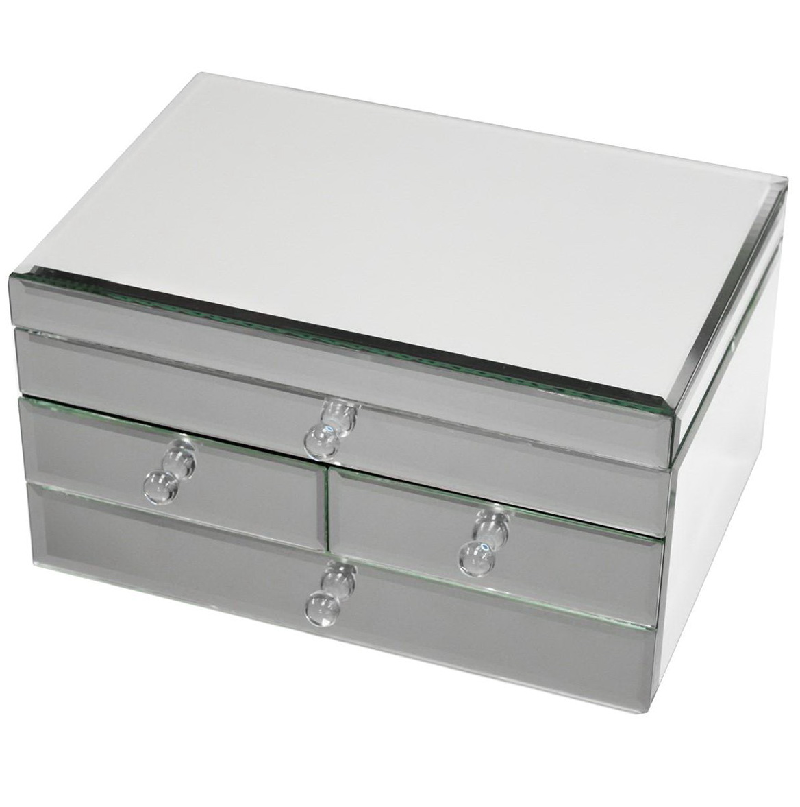 Jewelry Box Mirrored Glass