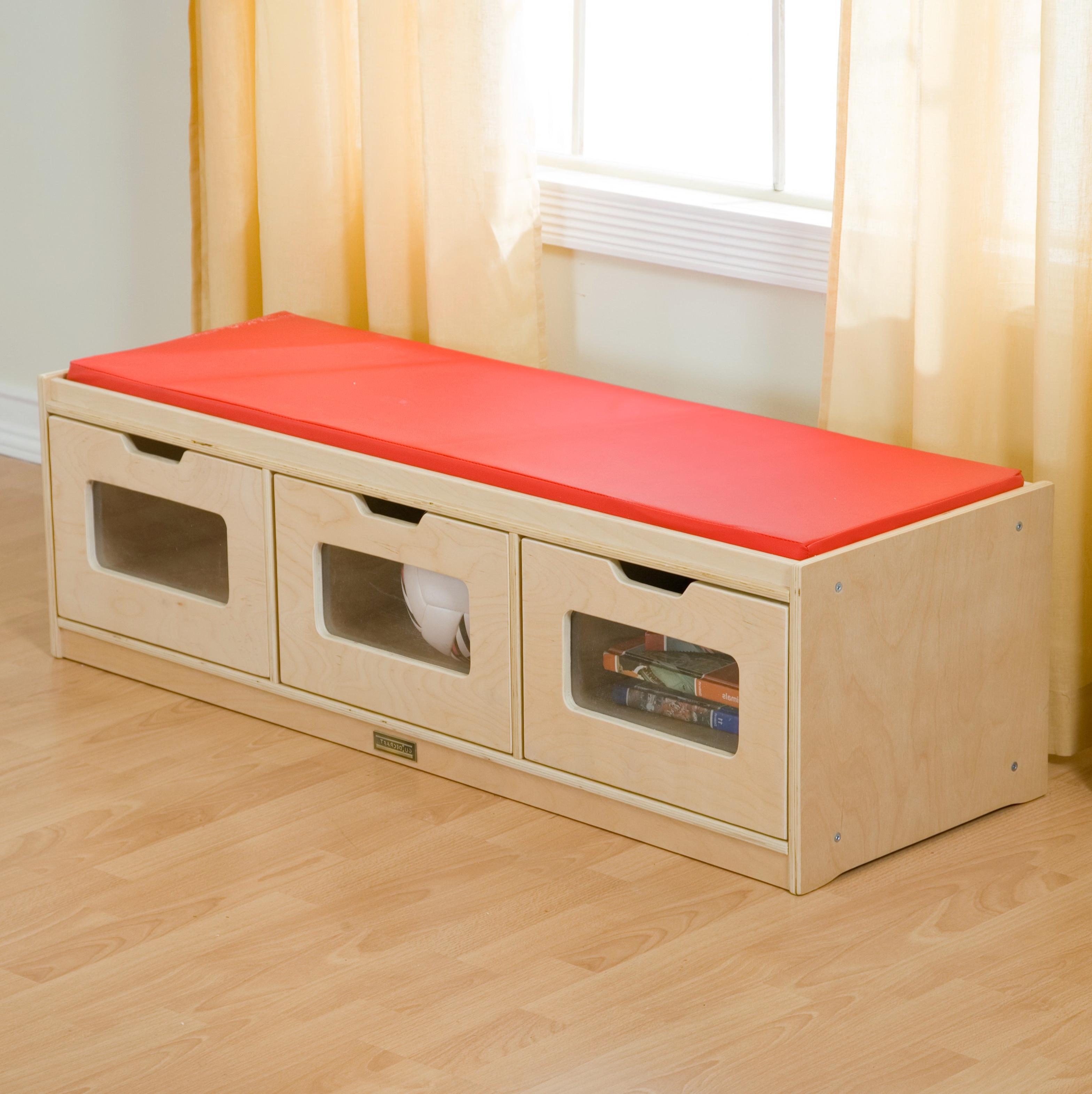 Kids Storage Bench Seat Home Design Ideas